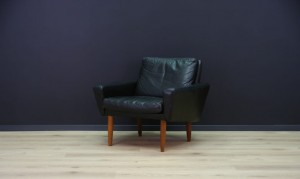 DANISH DESIGN ARMCHAIR CLASSIC LEATHER VINTAGE