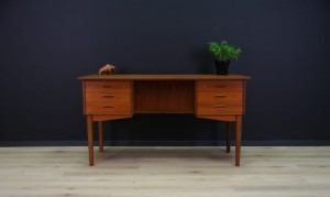 60 70 RETRO WRITING DESK  RETRO TEAK DANISH DESIGN