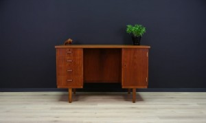 DANISH DESIGN WRITING DESK 60 70 TEAK CLASSIC
