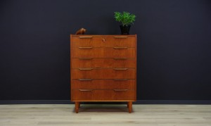 TEAK KOMMODE DANISH DESIGN SCHUBLADEN RETRO 60/70