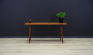 VINTAGE RETRO COFFEE TABLE TEAK DANISH DESIGN