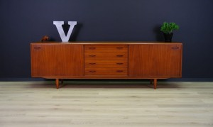 CLAUSEN & SON SIDEBOARD TEAK DANISH DESIGN RETRO