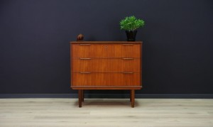DANISH DESIGN CHEST OF DRAWERS TEAK 60 70 RETRO
