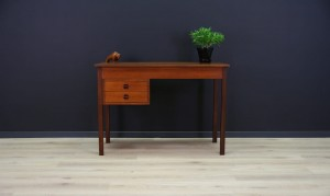DANISH DESIGN WRITING DESK RETRO TEAK VINTAGE