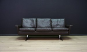 DANISH DESIGN SOFA LEATHER VINTAGE RETRO