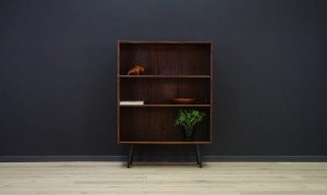 BOOKCASE DANISH DESIGN ROSEWOOD RETRO