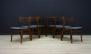 VINTAGE CHAIRS DANISH DESIGN RETRO TEAK
