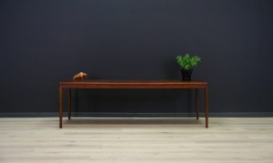 CLASSIC COFFEE TABLE ROSEWOOD RETRO