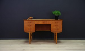 DANISH DESIGN WRITING DESK TEAK RETRO VINTAGE