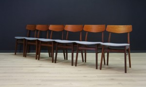 VINTAGE TEAK CHAIRS 60 70 DANISH DESIGN