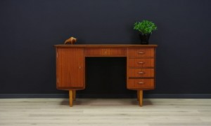 WRITING DESK DANISH DESIGN TEAK MID-CENTURY