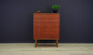VINTAGE KOMMODE DANISH DESIGN RETRO TEAK