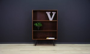 RETRO BOOKCASE DANISH DESIGN ROSEWOOD CLASSIC