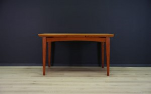 VINTAGE DANISH DESIGN TISCH RETRO TEAK 60/70