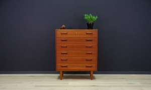 CLASSIC CHEST OF DRAWERS DANISH DESIGN RETRO TEAK