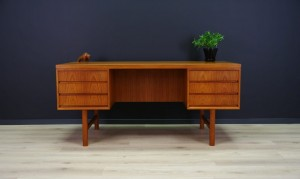 OMANN JUN WRITING DESK CLASSIC TEAK RETRO VINTAGE